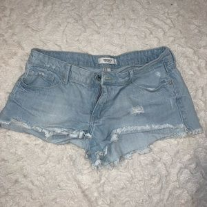 Forever 21 light Jean shorts